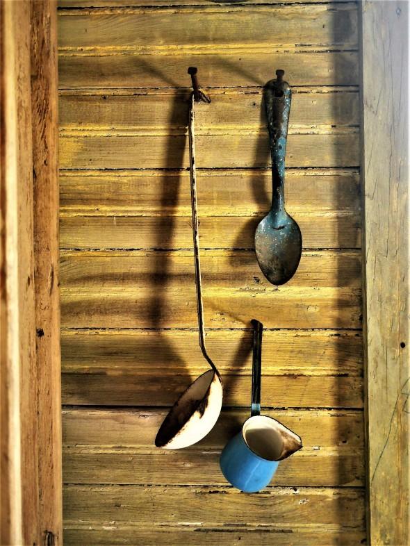 Ustensiles de cuisine (maison d'esclave)
